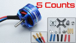 5 Pieces Exceed RC Rocket 3010-1820kv Brushless Motor RC Planes Airplanes