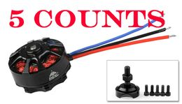 5 Pieces of AeroSky Brushless Multi-Rotor Drone Quadcopter Motor MC4220 880KV