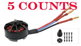 5 Pieces of AeroSky Brushless Multi-Rotor Motor MC2206-2000KV Clockwise