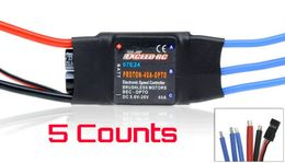 5 Pieces of Exceed RC Proton 40A OPTO Brushless Speed Controller ESC (NO BEC)