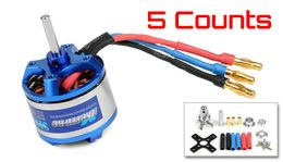 5 Pieces of Exceed RC Rocket 3015-2850kv Brushless Motor for RC Plane