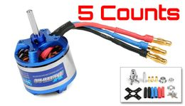 5 Pieces of Exceed RC Rocket 3015-840kv Brushless Motor for RC Plane