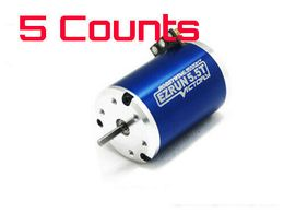5 Pieces of EZRUN 13.5T/SL-3650 w 2500KV Sensorless Brushless Motor 1/10 1/12