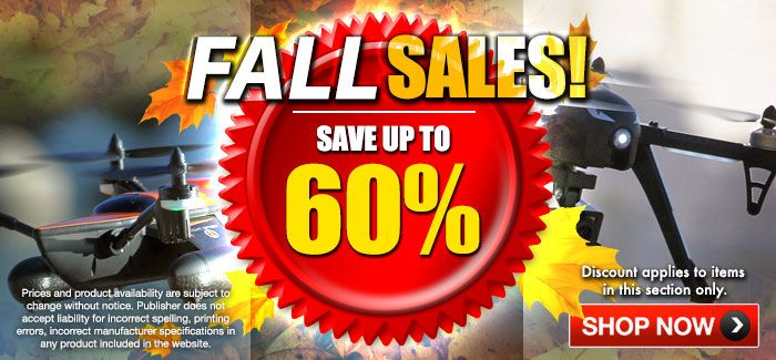 Fall Sales Up to 60% OFF