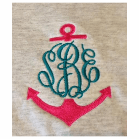 Anchor Monogrammed Tees (S-XL)