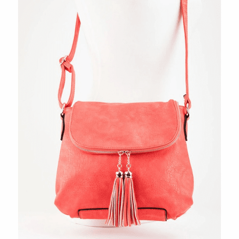 Jen & Co. Tassel Crossbody Bag