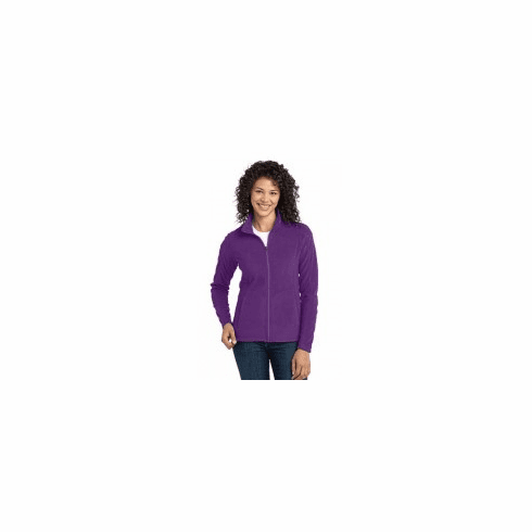 Ladies Microfleece Full Zip Jacket XS-XL