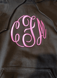 MONOGRAMMED HOODIES * SWEATSHIRTS * 1/4 ZIP SWEATSHIRTS  & MICRO FLEECE