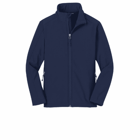 STMS Port Authority Youth Soft Shell WR Jacket
