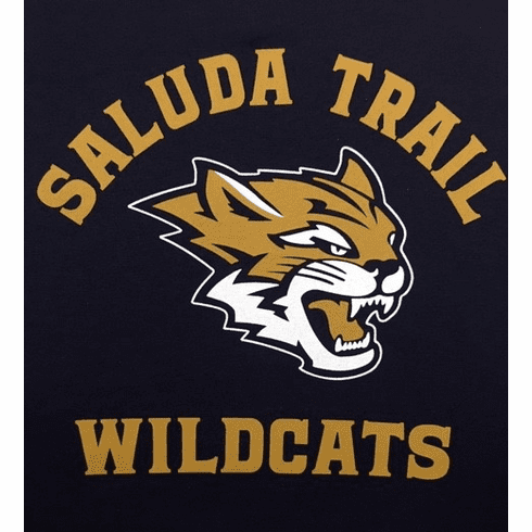 Saluda Trail Middle School Long Sleeve Navy T-Shirt