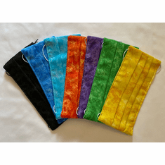 SBE FACE MASKS & HEADBANDS WITH BUTTONS