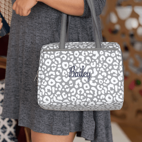 Smokey Leopard Lunch Tote