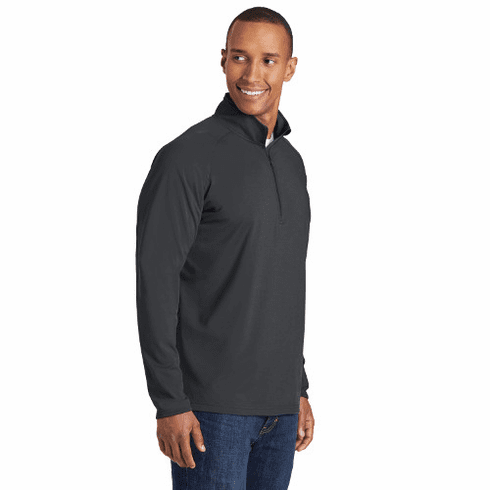 ST850 Sport-Tek® Sport-Wick® Stretch 1/2-Zip Pullover with STMS LC Logo