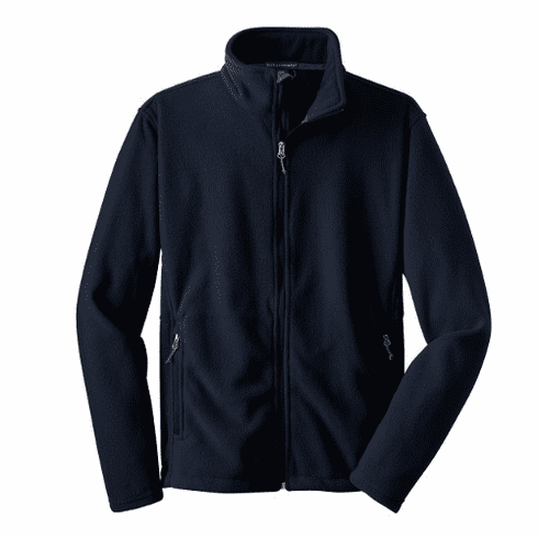 STMS Port Authority Navy Fleece Jacket Adult (XS - XL)