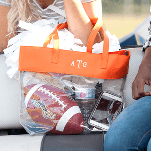 VIV & LOU GAME DAY CLEAR TOTES