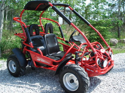 TRAILMASTER XRX Mid-Size Youth Go Kart - NOW Calif Legal* -