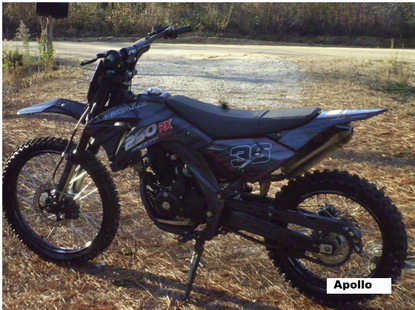Apollo Extreme Series 250 Deluxe Dirt Bike