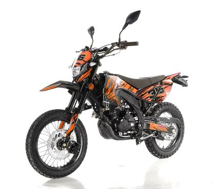 Apollo Extreme Series 250 Deluxe STREET LEGAL Dual Sport Bike -