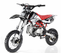 "Apollo DB-X15 Ultra-Elite 125cc Pit / Dirt Motorcycle. -Twin-Spar Tubular Frame (Compare to Honda) -Upgraded Rear Swing-Arm - 14"" Front Wheel -"