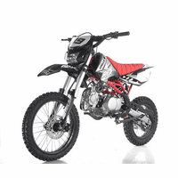 "Apollo DB-X19 With HEADLIGHTS Ultra-Elite 125cc Pit / Dirt Motorcycle. -Twin-Spar Tubular Frame (Compare to Honda) -Upgraded Rear Swing-Arm - 17"" Front Wheel - Inverted Forks -"