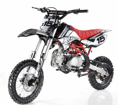 Apollo D-X15 Dirt Bike 125cc Over-Size with 14\