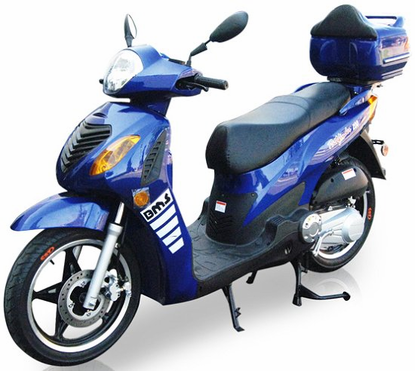 BMS Pathfinder 200cc Scooter with 16