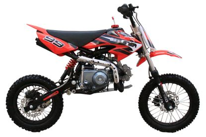 Coolster Qgs Deluxe 125cc Pitdirt Bike Low Seat Height Semi Automatic Transmission Calif Legal