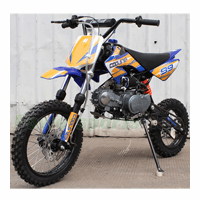 Coolster QGS Deluxe 125cc Pit/Dirt Bike - Low Seat Height - Semi-Automatic Transmission - Calif Legal