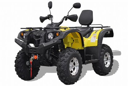 Hisun ATV-700 is a 4WD Utility ATV with a Liquid-cooled, 4-Stroke engine