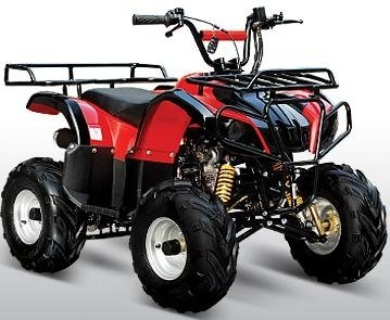 Kymoto SU 110 Larger Size Kids Sport Utility Quad - Calif Legal