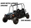 Jet Moto GK200 Fully Automatic - 4 Seater Kids Size Go Kart -