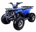 "Jet Moto Super Sport 125cc Ranch/Utility Quad - Over-Size 19"" Tires Chrome Rims - Wider Stance - NEW FOR 2019 Super strong Racks and Jig welded frame"