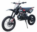 """Jet Moto XR-17 - 125cc Deluxe Dirt / Pit Bike with Extra Large 17"""" Wheel - DB T006"""