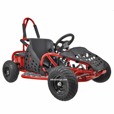 Kicker Electric Go Kart 1000 Watts 48 Volt Sds To 17mph Motos