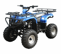 Jet Moto Wrangler X1 SU 110 Larger Mid Size Kids Sport Utility Quad. Metal Racks, Best in the class suspension- Calif Legal