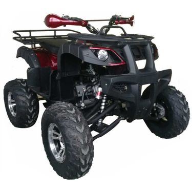 Regency  SU 200  Utility Quad.  Full size Fully Automatic, Larger Tires, Chain Drive, Chrome Rims Ultra Wide Front,