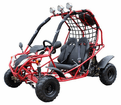 Kymoto XR GK 125-H Ultra Deluxe Midsize Youth Go Kart - Optional Spare Tire -