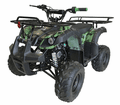 "Kymoto XR19S Rancher 125cc  Quad with 19"" Tires Semi Automatic Over Size Tires MID SIZE"