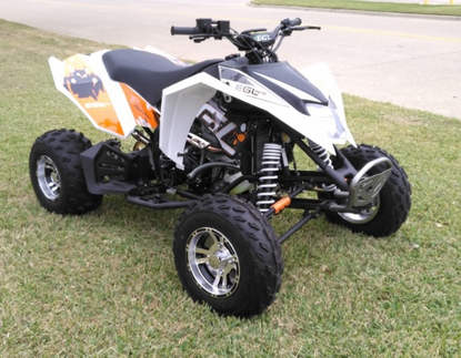 LANCER PRO Ultra Sport 250cc ATV - Water Cooled - Larger Adult Size - Top  speed 65mph+* -