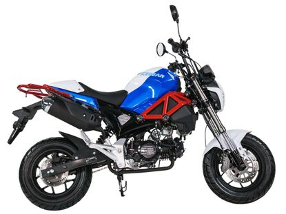 Kymoto Monster 125CC Four Speed Motorcycle