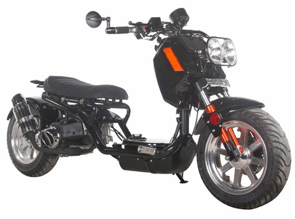 "Maddog Rukus Style Deluxe 150cc Scooter GEN IV - Larger 12"" Wheels -"