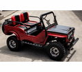 NEW FOR 2020 The Mini Jeep Wrangler Safari in new hot colors and all new design. Lifted and loaded  125cc semi automatic 3 Speed.