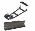 "Regency ATV Snow Plow System - Includes 48"" Steel Blade, Push Tube & Mount -"