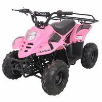 Regency Hawk 110cc Kids Quad, Parental Controls, Hand and foot Brakes