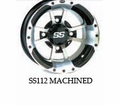 "Ss112 Wheel Kits For 12"" Big Horn from Motobuys.com"