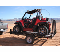 Star Unistar Extra Wide Utv / Atv Trailer with Side & Ramp Loader - 9' Deck from Motobuys.com
