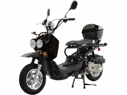 50cc outback style scooter - cvt automatic transmission / +free shipping!
