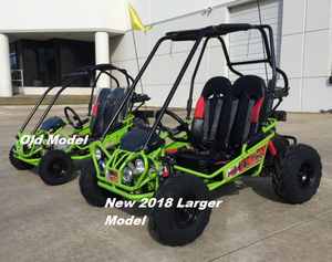 Trailmaster New Ultra Mini Xrx R Go Kart With Reverse Wider Frame Seats More Leg Headroom Much Taller Roll Cage Ger Tires