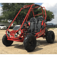 Trailmaster NEW Ultra Mini XRX+ Go Kart - Wider Frame, Wider Seats, More Leg & Headroom, Taller Roll Cage, Bigger Tires!