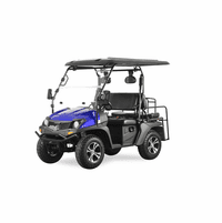 TrailMaster Taurus 200GX Gas Golf Cart/UTV With Full length roof covering both sets of seats